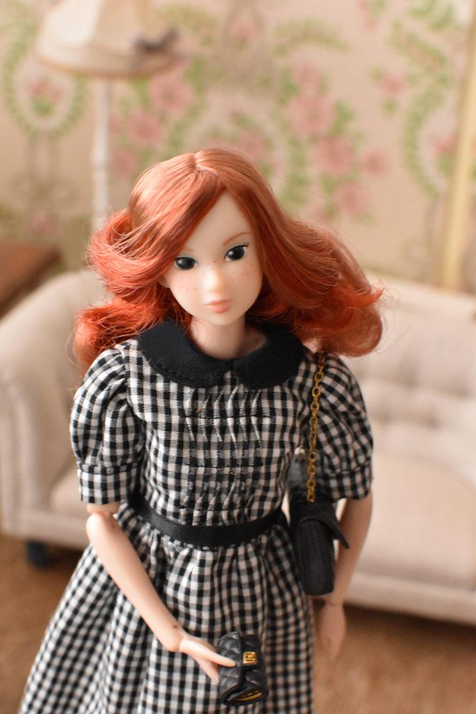 『DOLL OUTFIT STYLE (うっとりするほどかわいいドール服のレシピ)』よりGirlish Puff Sleeve Dress