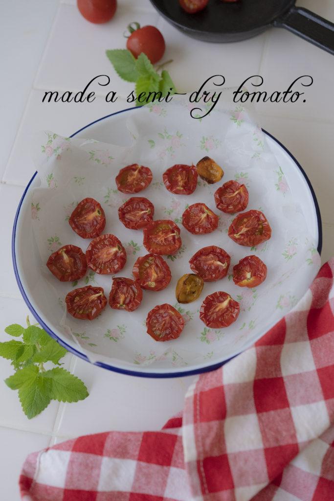 ドライトマトを作りました